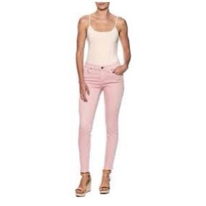 NEW Old Navy Salmon Pink Skinny Jeans 4